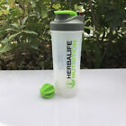 700ml Herbalife Sports Water Bottle Shake Cup Nutrition Drink Plastic with Lid