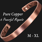 100% Pure Copper Bracelet for Arthrits Pain Releif Magnetic Therapy Bracelet -cf