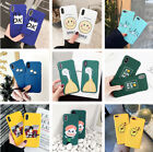 Hot Sell Lovely Pattern Shockproof Hard Slim Case Cover For iPhone X 8 7 6s Plus