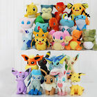 NEW Pokemon Collectible Plush Character Soft Toy Stuffed Doll Teddy Gift UK Fast