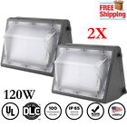 LED 120W Wall Pack Fixture Outdoor Wall Mount Security Lighting Parking LOT SALE