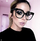 Kyпить XXL OVERSIZED Cat Eye MISS GORGEOUS  Clear Lens Eyeglasses Glasses SHADZ на еВаy.соm