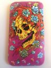 RIGID PLASTIC BACK CASE / COVER FOR APPLE iPHONE 3 3GS - ED HARDY TATTOO DESIGNS