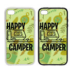Happy Camper - Rubber and Plastic Phone Cover Case #2