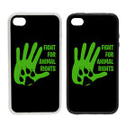 Fight For Animal Rights - Rubber and Plastic Phone Cover Case #1
