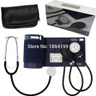 Factory outlet! Aneroid Sphygmomanometer Cuff Blood Pressure Montior with Stetho