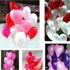 10 Pcs Latex Heart Shaped Multicolor Balloons Birthday Wedding Party Decoration