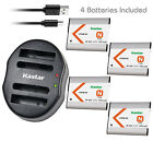 Kastar Battery Dual USB Charger for Sony NP-BN1 BC-CSN & Sony Cyber-shot DSC-TX7