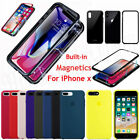 Ultra-Thin Silicone Back Case Genuine OEM Cover For Apple iPhone 8 Plus X 10 7 6