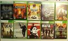 Lot of 10 - X BOX 360 Games.  Rated M & T -  Saints Row Just Cause, 10 Games