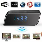 best wifi laptop card - Best 1080P Wireless Wifi IP Spy Hidden Camera Motion Security Alarm Clock IR Cam