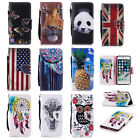 Luxury Pattern Magnetic PU Leather Stand Card Wallet For Xiaomi/HTC/Sony Phones