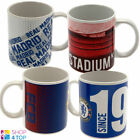FOOTBALL SOCCER CLUB TEAM CERAMIC MUG CUP COFFEE TEA OFFICIAL LICENSED NEW