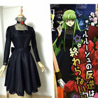 party pieces free delivery code - Code Geass C.C. banquet party Black Gown Dress cosplay costume#!free shipping