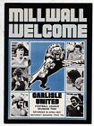 MILLWALL HOME PROGRAMMES 1976/77  CHOSE FROM DROP DOWN MENU