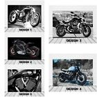 SUPERCOOL HARLEY DAVIDSON TRIUMPH DUCATI BMW VICTORY MOTORBIKE CANVAS PICTURES £29.99 GBP on eBay