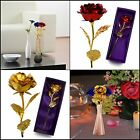 Mother Day 24K Gold Foil Artificial Rose Birthday Valentine's Anniversary Gift