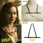 Han Solo A Star Wars Story Emilia Clarke Qi'ra QIRA Half Circle Necklace Cosplay $11.9 USD on eBay