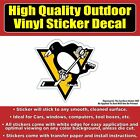 Pittsburgh Penguins - Hockey Vinyl Car Window Laptop Bumper Sticker Decal $3.00 USD on eBay