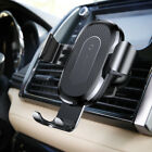 Baseus Wireless 2A Fast Charger Gravity Car Mount 10W Silicone for iPhone X 8 8P