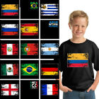 Soccer Shirt Youth Brazil 2018 Argentina 2018 Mexico Shirt Colombia 2018 Shirt image