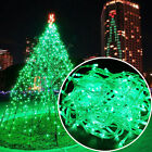 96-1000 LED Fairy String Xmas Party Hanging Icicle Curtain Lights Plug Connected