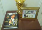 PRESIDENT DONALD TRUMP SIGNED AUTOGRAPHED $50 BILL & BOOK FREE Shipping!