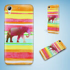 AFRICAN TRIBAL AZTEC ELEPHANT #26 HARD CASE FOR HTC DESIRE 816 820 826 10 PRO