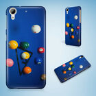 SNOOKER POOL TABLE BALLS 3 HARD CASE COVER FOR HTC ONE M7 M8 M9 M9+ $8.87 USD on eBay