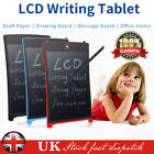 """8.5"""" LCD eWriter Tablet Writting Drawing Pad Memo Message Board For Child Adults"""