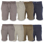 Mens Sweat Comfy Summer Fleece Jersey Sports Jogging Gym Shorts Sizes S M L XL