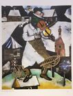 """VTG Marc Chagall Art Print Bookplate SUPREMATISM 8.5"""" x 11"""" ** SEE VARIETY"""