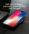 Baseus Qi Wireless Fast Charger For iPhone X 8/8P Samsung Galaxy S9 S9+ Note 9