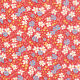 Scarlet Red 30s Playtime Reproduction Fabric - Moda - BTY - 33040 19