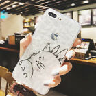 Cartoon STUDIO GHIBLI Totoro Silicone Back Case Cover For iPhone X 8 7 6/6s Plus