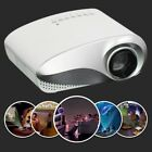 LED/LCD Projector HD 1080P HDMI Home Cinema USB/VGA For Iphone 5/6/7/8/X DVD CC
