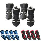 Clothing Shoes - US 4PCS Pet Summer Mesh Shoes Dog Breathable Sandals Boots Puppy Protective Shoe