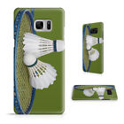 BADMINTON SHUTTLECOCK RACQUET PHONE CASE COVER FOR SAMSUNG GALAXY S SERIES