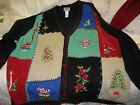 "UGLY CHRISTMAS SWEATER  Vintage ""The Real Thing"" Venzia Women's Size 2XL"
