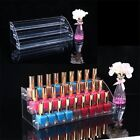 New Acrylic 7-2 Tiers Organizer Lipstick Jewelry Display Holder Nail Polish Rack