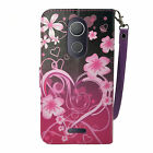 For T-Mobile Coolpad Revvl Plus Flip kickstand Slot Wallet PU Leather Case