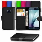 For Samsung Galaxy S7 & S7 Edge Leather Wallet Flip Case Cover Magnetic Closure