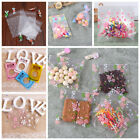 100pcs Self Adhesive Pouch Candy Cookie Wedding Gift Bags Birthday Supply Decor