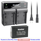 Kastar Battery Dual Rapid Charger for Canon LP-E17 LC-E17 & Canon EOS M6 Camera
