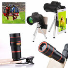 40x Zoom Hiking Monocular Telescope Telephoto Lens Camera Scope Hunting + Holder