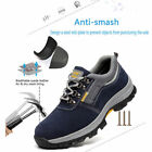 Fashion Mens Safety Shoes Steel Toe Cap Work Boots Sports Climbing Hiking Shoes