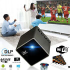 1080P HD P1+ DLP LED Projector Mini Micro Pocket Home Theater Multimedia USB/TF