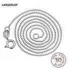 LARGERLOF 925 Silver necklaces & pendants Fashion Women 925 Pendatn Necklace Cha