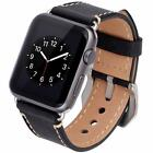 42mm Strap Band Genuine Leather Apple Watch Series 3 2 1 Wristband Iphone Iwatch