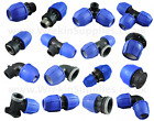 MDPE Plastic Compression Fitting 20mm O/D Polypipe LDPE Water Pipe WRAS Approved